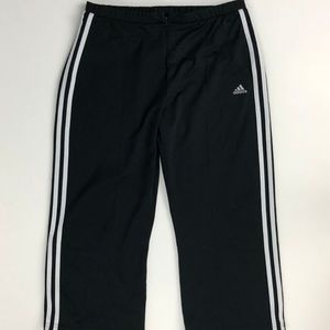 Adidas Pants Women's Large Athletic Semi Fitted Br